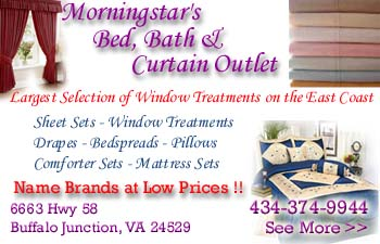 Morningstars Bed, Bath & Curtain Outlet - Click for more information