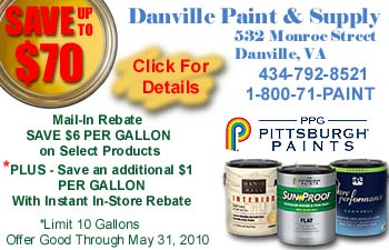 Danville Paint & Supply - Click To View Rebate Details