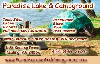 Paradise Lake and Campground - Keeling Virginia