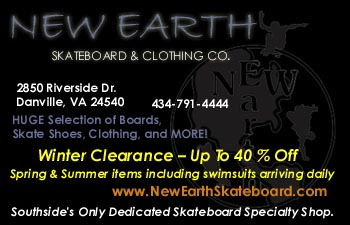 New Earth Skateboard & Clothing Co. - Danville, VA