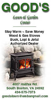 Good's Lawn & Garden - South Boston - Wood & Gas Stoves - Buck, Lopi and Jotul
