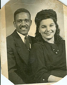 Fred and Bessie - Early marriage years