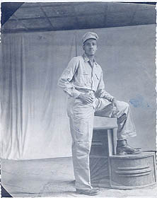 Fred in uniform