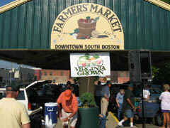 South Boston's Downtown Farmer's Market -  Virginia Grown