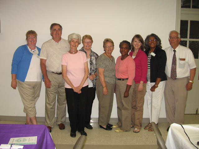 Southside Master Gardeners - Class of 2010.  Click To Enlarge